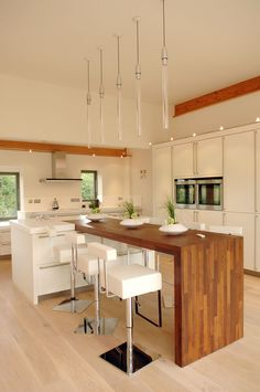 The kitchen of Woods End in Norfolk, voted Britain's Best Home 2009.