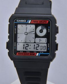 Casio AE-20W: This is the watch I had when I was a kid. Now £140.00 plus shipping. Again, I sold it for $5 to a kid in my freshman biology class.    Kids have short time horizons. Miss the hell out of this watch.