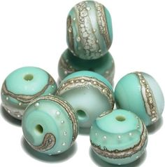 Glass Lampwork Beads Sale Store Wide Copper Green by ArcadiaBeads, $45.00