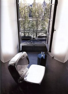 Karl Lagerfeld Apartment Pictures Architectural Digest Photo 1