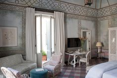Suite Four | Palazzo Margherita - Francis Ford Coppola Luxury Hotel in Bernalda Italy