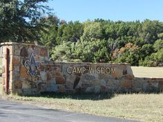 Boy Scout camp with fun campsites, just minutes from downtown Dallas.