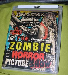 ROB ZOMBIE HORROR PICTURE SHOW DVD LIVE CONCERT ON STAGE SCREEN THRILLER