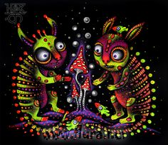MOUSEY 🐭 Psychedelic Drugs, Psychedelic Drawings, Psycadelic Art, Trippy Painting, Acid Art, Stoner Art, Psy Art, Funky Art, Visionary Art