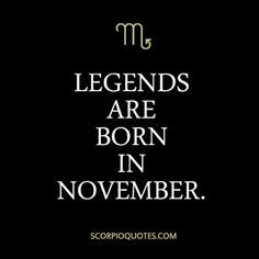 You think the energy is intense this month? Try living it like us, Scorpios do! Yes, technically, the Scorpio season started on October but true Scorpios are November babies. Scorpio Zodiac Facts, Scorpio Traits, Scorpio Girl, Scorpio Love, Scorpio Horoscope, Scorpio Quotes, My Zodiac Sign, Scorpio Female, True Quotes