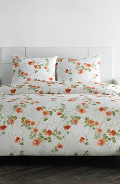 Vera Wang 'Orange Blossom' Duvet Cover Set & Sham