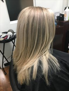 Icy blonde babylights