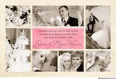 wedding thank you cards - Bing Images Thank You Card Wording, Wedding Thank You Cards, When I Get Married, I Got Married, Wedding Couples, Wedding Photos, Wedding Ideas, Wedding Planning, Wedding Inspiration