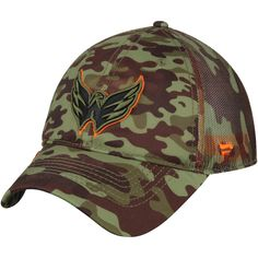 the latest 21379 0d16a Men s Washington Capitals Fanatics Branded Camo Recon Trucker Adjustable Hat,  Your Price   23.99