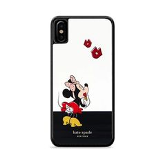 New York Kate Spade X Minnie Mouse Kiss iPhone X Case – Miloscase Minnie Mouse, Kiss, Kate Spade, New York, Phone Cases, Iphone, New York City, Nyc, Kisses