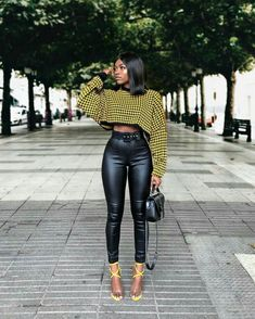 heels for date night Black girl fashion Mode Outfits, Night Outfits, Classy Outfits, Stylish Outfits, Fall Outfits, Fashion Outfits, Outfit Night, Heels Outfits, Outfit Winter