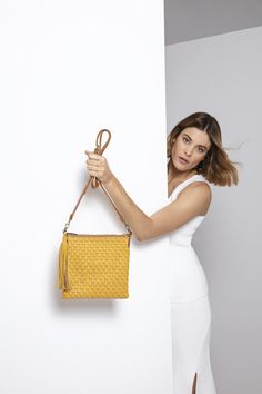 Leather Weaving, Mustard, Leather Bag, Collections, Handbags, Tote Bag, Products, Fashion, Moda