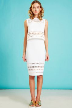 Clover Canyon Resort 2015 Collection Slideshow on Style.com