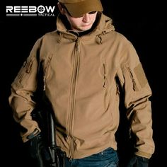 V4.0 Waterproof Soft Shell Tactical Jacket Outdoor Hunting Sports Army SWAT Military Training Windproof Outerwear Coat Clothing -  http://mixre.com/v4-0-waterproof-soft-shell-tactical-jacket-outdoor-hunting-sports-army-swat-military-training-windproof-outerwear-coat-clothing/  #HikingJackets