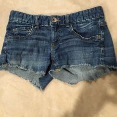 Mossimo denim shorts Mossimo jean shorts size 1. Great condition! Mossimo Supply Co Shorts Jean Shorts