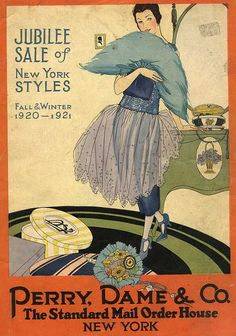 Perry, Dame & Co. catalog cover, 1920