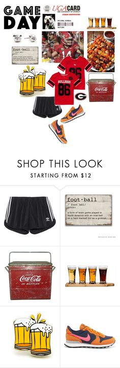 """Untitled #616"" by krahmmm ❤ liked on Polyvore featuring adidas Originals, Victoria's Secret PINK, PINTRILL and NIKE"