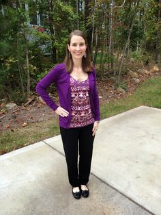 LaForce Be With You - What I Wore: Purple on Purple