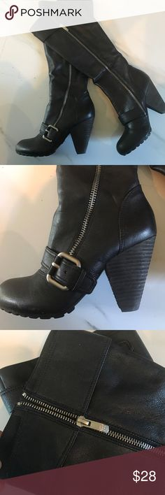 Gorgeous Vince Camuto leather boots Box 16EC18.  Price is firm Vince Camuto Shoes Heeled Boots