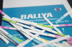 Ballya Bio test kit can quickly detect antibiotics at or below maximum residue limits. Colloidal Gold, Milk