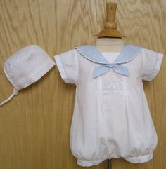 $40 Sailor Outfit w/Hat by Will'beth - Adorable!