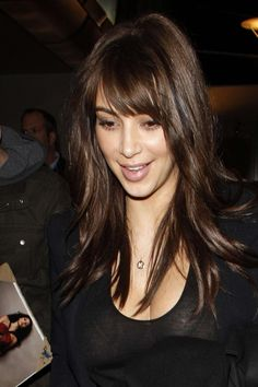 Kim Kardashian - New Haircut -08 - GotCeleb