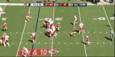 Kansas City Chiefs Rookie De'Anthony Thomas Scores First NFL Touchdown in Loss to 49ers [GIF] | FatManWriting