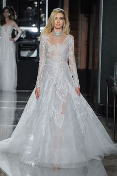 Reem Acra Bridal Spring 2018