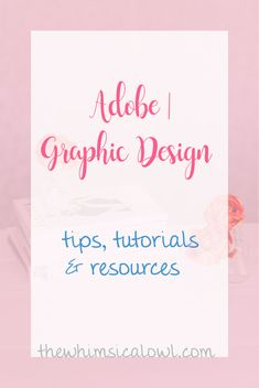 My favorite tips, tutorials, and resources for Adobe Illustrator, Photoshop, and InDesign