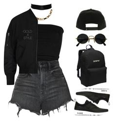 """""""VIDEO."""" by goldxstyle ❤ liked on Polyvore featuring Laneus, Alexander Wang, NIKE and Acne Studios"""
