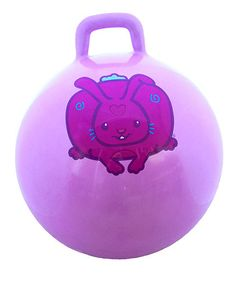 Take a look at this Rabbit Jumping Ball by Santa's Workshop Collection on @zulily today!
