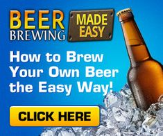 Beer Brewing Made Easy - How to Brew Your Own Beer the Easy Way Brew Your Own Beer, Home Brewing Beer, How To Make Beer, Brewery, Make It Simple, Easy, Instant Access
