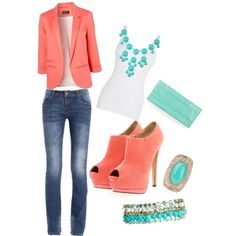 A fashion look from November 2012 featuring Boohoo ankle booties, BCBGMAXAZRIA clutches and Mango bracelets. Browse and shop related looks.