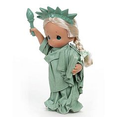Precious Moments Co. Little Miss Liberty-Statue Doll, 2007