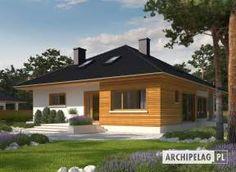 Liv 3 G1 - projekt domu - Archipelag Bungalow House Plans, Bungalow House Design, House Layout Plans, House Layouts, Bungalow Extensions, One Storey House, Indian House Plans, Beautiful House Plans, Architectural House Plans