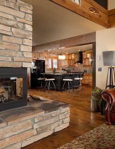 Distressed Wood Floor Design Ideas