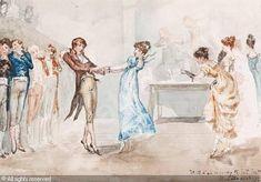 The Regency dance, Albert Ludovici, 1852-1932