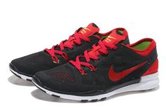 competitive price 388ff 7f6ec Men Nike Free 5.0 TR Fit 5 Black Bright Crimson