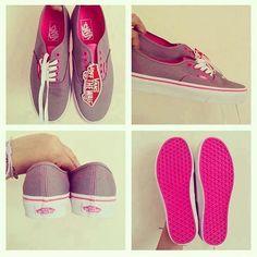 #Vans #Pink #Cute #Style