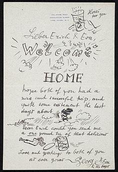 George Grosz to Erich S. Herrmann, ca. 1940