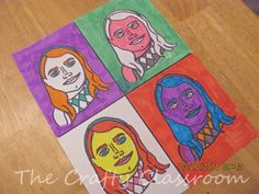 Finding this prompted me to revisit my student's Warhol inspired portraits from 2004. Would love to teach it this way now that I have the tech to do so. http://www.artsonia.com/museum/gallery.asp?exhibit=2796=24