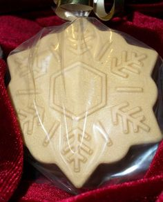 '3 silver or gold snowflakes soaps' is going up for auction at  8pm Wed, Sep 12 with a starting bid of $5.