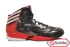 2000432bfeeffb adidas adiZero Crazy Light 2 Black Scarlet (G48787)