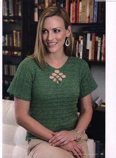 Más de 1000 imágenes sobre Tejido blusas 3 en Pinterest | Tops de