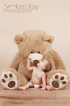 stuffed animal - huge stuffed animal as a backdrop and attention getter