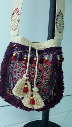 Wayuu Turkish Boho Mochila