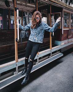 San Francisco trolley ride