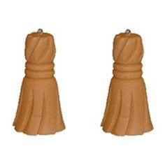 wood tassel