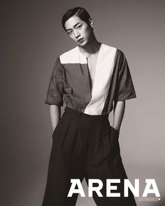 2014.08, Arena Homme Plus, Seo Kang Joon