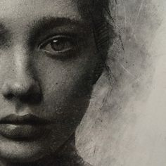 Instagram photo by caseybaugh - Detail shot of textures. Charcoal on paper. ➰ #art #charcoal #drawing
